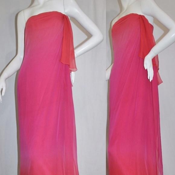 Melinda Eng Dresses & Skirts - I've Got U Babe.. Vintage Strapless Dress Gown